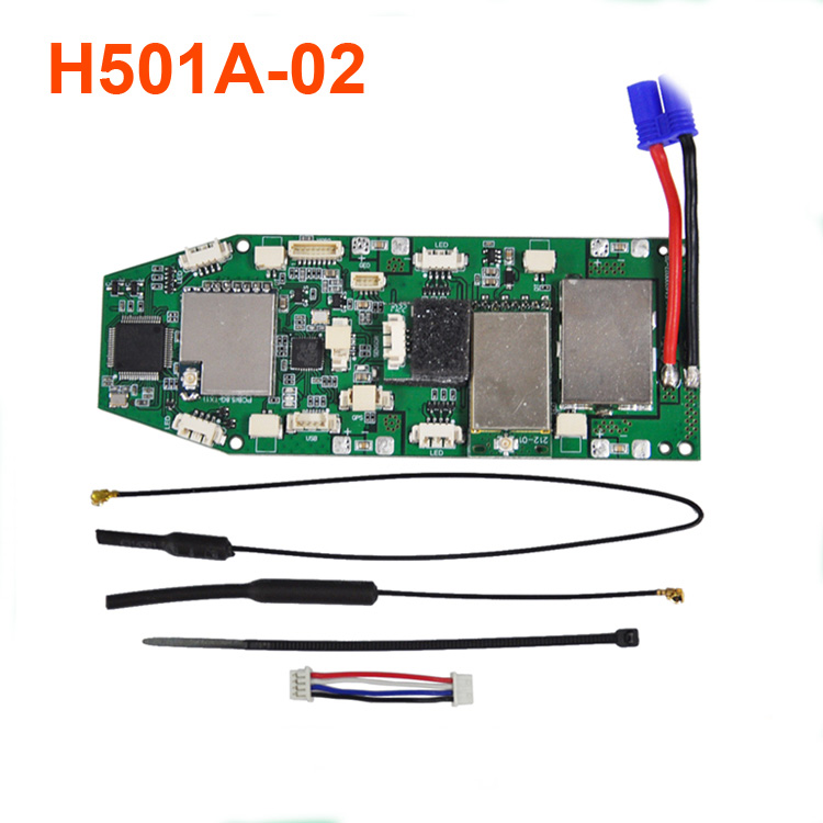 Hubsan H501S H501A RC Drone Quadcopter spare parts H501A 02 Power board-in Parts & Accessories from Toys & Hobbies    1