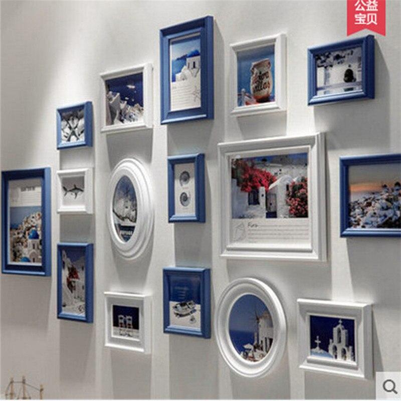Marco de fotos marco de fotos blanco conjunto para el hogar talla ...