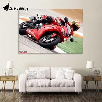 1 pieza lienzo arte póster Motor Triumph Daytona HD lienzo pintura impresiones hogar Decoración arte cuadros para sala de estar XA1448C