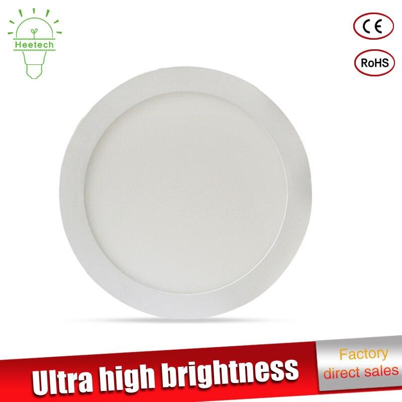 5pcs/lot thin led down light led light 3w 6w 9w 12w 15w 18w led ceiling recessed round downlight slim Square panel light