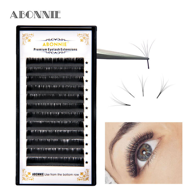f492a45fa1f Bloom Eyelash 8 17mm Automatic Flowering Lash Easy Fan Lash Extension Self  making Fans Magic Eyelash Extension Faux Mink-in False Eyelashes from  Beauty ...