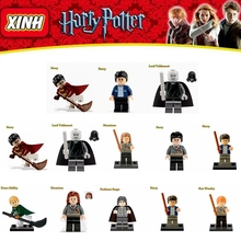 Set Sale Harry Potter Blocks Hermione Ron Lord Voldemort Draco Malfoy Building Blocks Models Toy(China (Mainland))