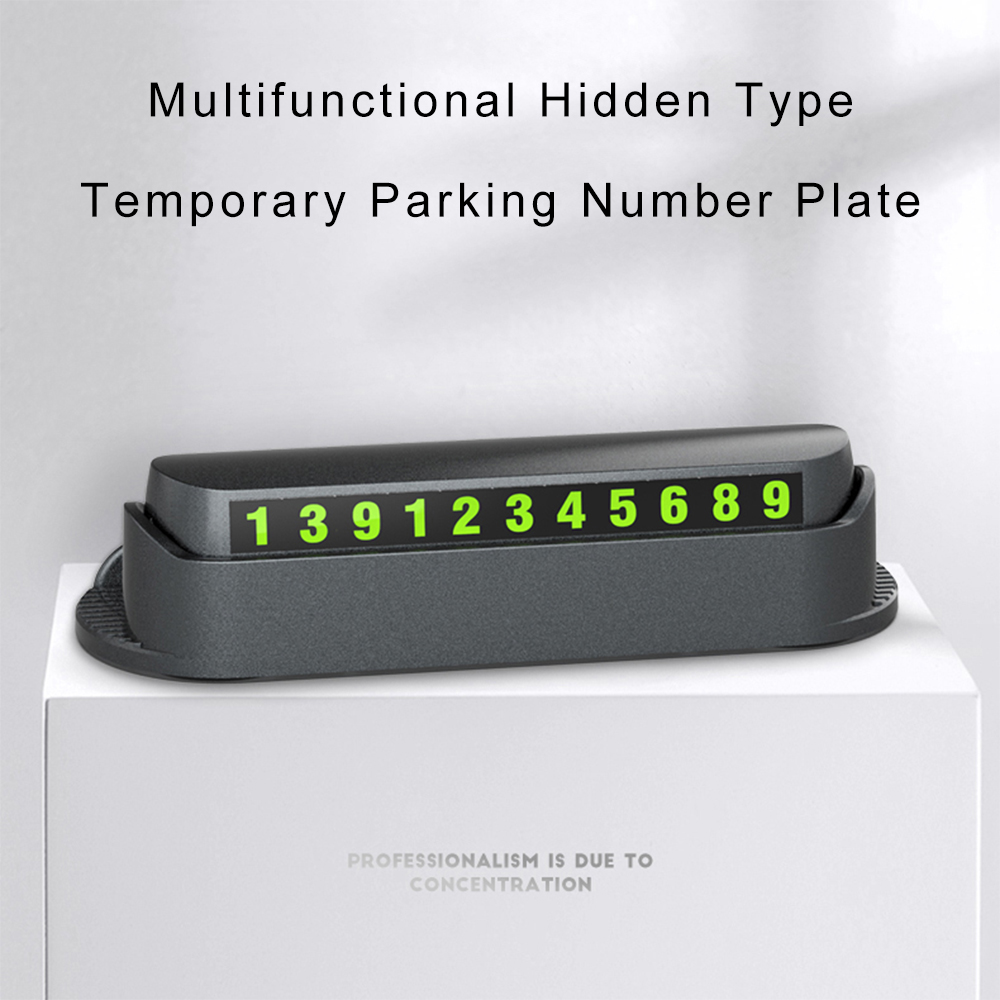 Image 3 - Car Temporary Parking Card Phone Holder Hidenable Car Parking Number with Air Freshener Perfume Car Accessories Sticker-in Car Stickers from Automobiles & Motorcycles