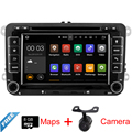 7 ''Quad Core Android 5.1 Multimedias Del Coche GPS Para VW Universal con DVD Radio Mapa Wifi BT 16 Gb Flash Enlace Espejo Libre gratis