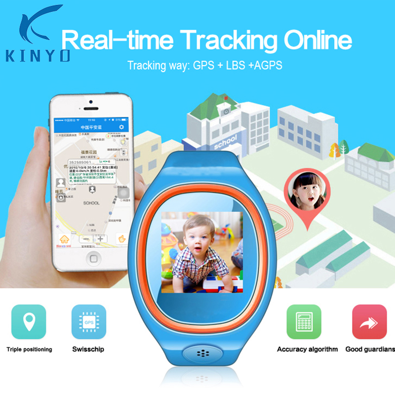 Accurate Cute Kid watch Kid Wrist Smart Watch With SOS GPS LBS track online Child montre intelligent Wristwatch For Kid gifts велосипед smart kid 24 2015