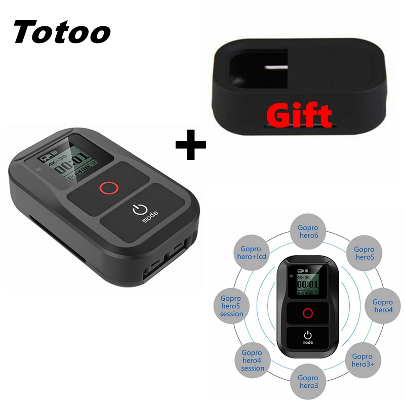 Accessories For Gopro 6 5 Remote Waterproof Wifi Smart Remote Control For Gopro Hero 7 Black