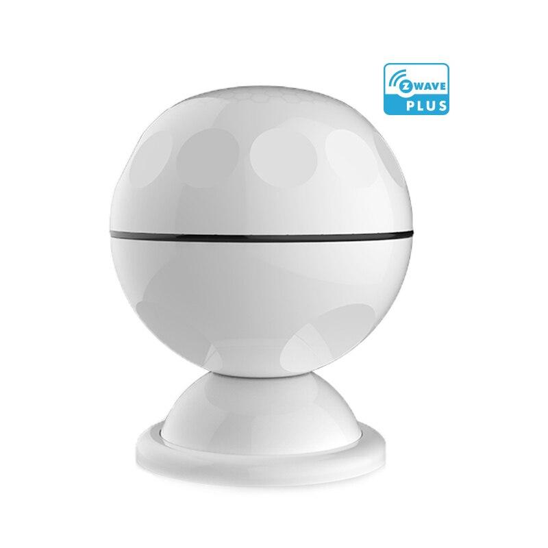 Alarme de détecteur de mouvement PIR infrarouge ZWave Version européenne pour système d'alarme domotique intelligent sans fil z-wave Plus