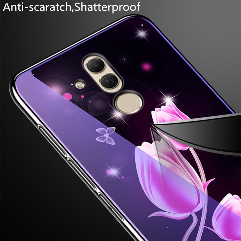 ღ Ƹ̵̡Ӝ̵̨̄Ʒ ღTempered Glass Case For Huawei Mate 20 Lite