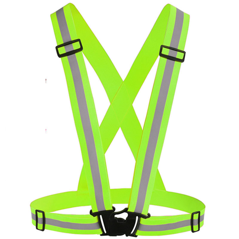 Cycling Clothings Just Cycling Vest Led Light Reflective Night Running Riding Safety Harness Outdoor Sports Strips Belt Bicycle Universal Bike Supplies And To Have A Long Life.