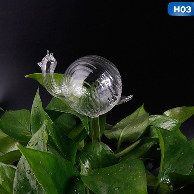 BIG SALE] 4 Shapes House Plants Flowers Water Feeder Automatic Self