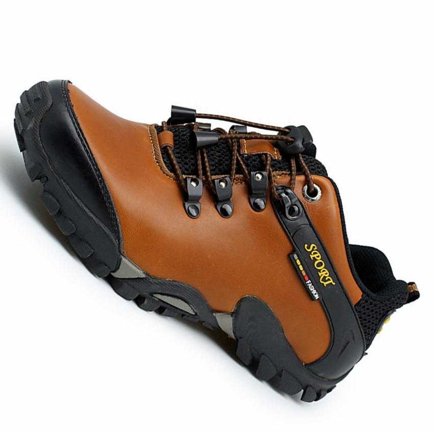 men designer kuxury brand hiking shoes men genuine leather hiking shoes men ankle boots hiking sneakers zapatos hombre 35k