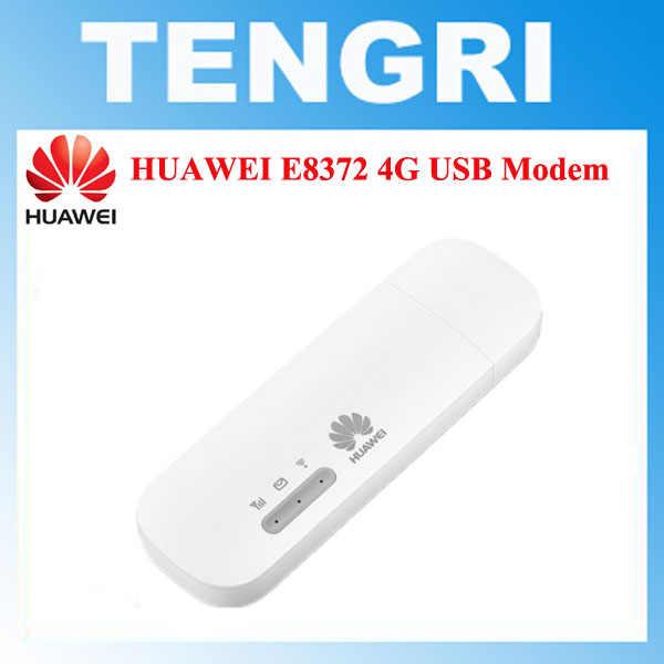 Original Unlocked Huawei E8372 E8372h-153 E8372h-608 150Mbps 4G LTE USB  modem Mobile WiFi dongle Cat4 Mobile Broadband Stick
