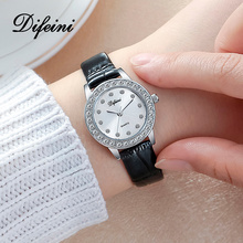 Hot Fashion Women Watches Leather Strap Stainless Steel Quartz Watch Ladies Waterproof Wristwatch Female Relogio Feminino Xfcs