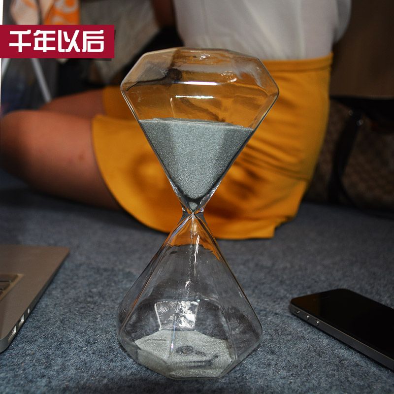 After 3060 minutes hourglass time font b calculator b font home accessories gift ornaments