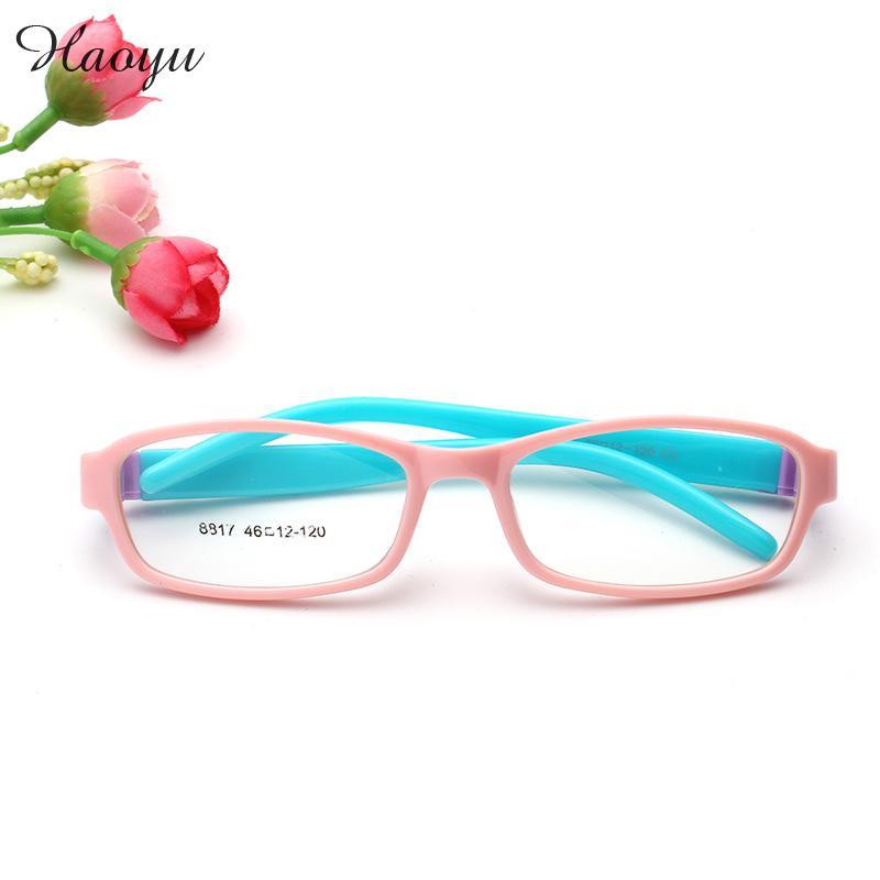 haoyu Child Plastic Titanium Optical Glasses Frames Boys Girls ...