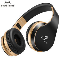 Sound Intone P16 Bluetooth Headphones with Mic Bass Headsets Auriculares Stereo Wirelesss Earphones For Xiaomi iPhone Samsung PC