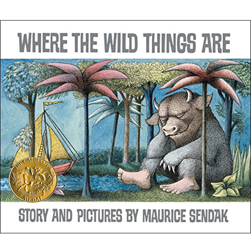 Where The Wild Things Are By Maurice Sendak Educational English Picture Book Learning Card Story Book For Baby Kid Children Gift