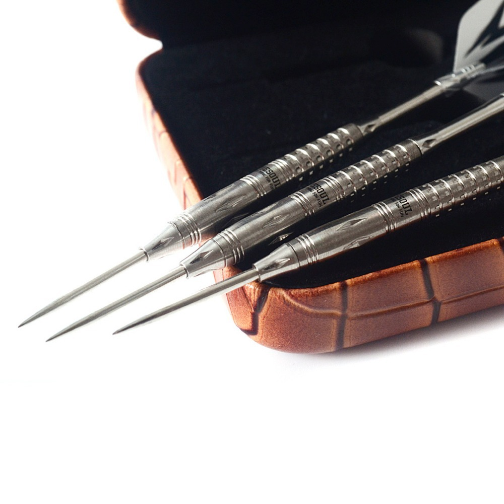 CUESOUL FIGHTING SOUL 22 Gram 95 Tungsten Conversation Steel Tips Darts With Dart Sharpener Dart Flight Dart Shaft in Darts from Sports Entertainment