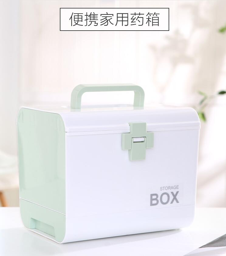 Household medical kit multi-layer classification children's plastic first aid kit portable portable medical product box new gbj free shipping home aluminum medical cabinet multi layer medical treatment first aid kit medicine storage portable