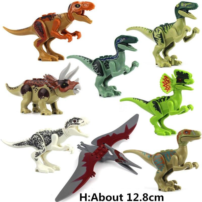 Blocs de construction de vente unique dinosaures chiffres Anime éducatif Compatible avec la plaque de base de marque connue pour cadeau
