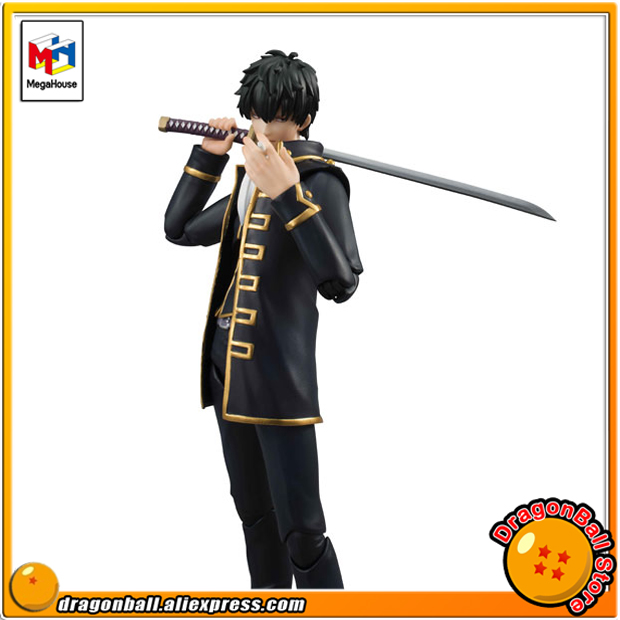 Japan Anime Gintama Original MegaHouse Variable Action Heroes Action Figure - Toshiro Hijikata japan anime one piece original megahouse variable action heroes action figure rob lucci