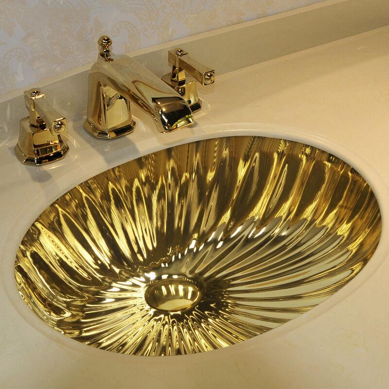 Gold Sinks Under