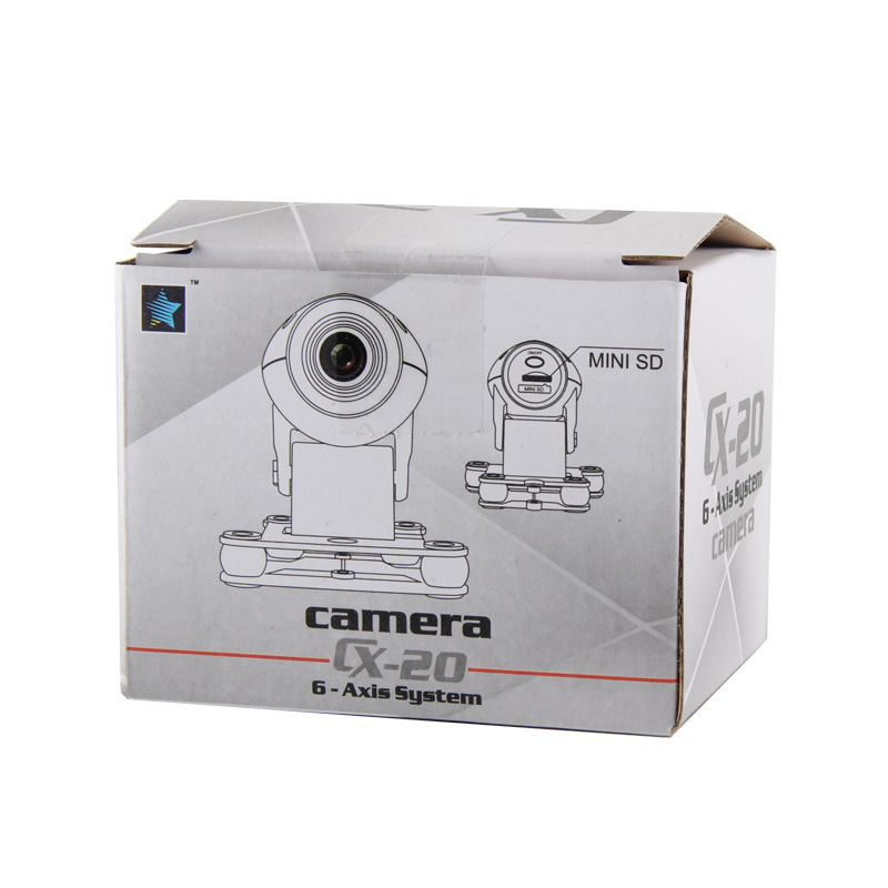 Original Cheerson Parts Camera 720P 5 Mega-pixel DVR For CX-20 CX20 RC Quadcopter Parts Free shipping spare parts cap of motor for cheerson cx 20 cx20 rc quadcopter silver