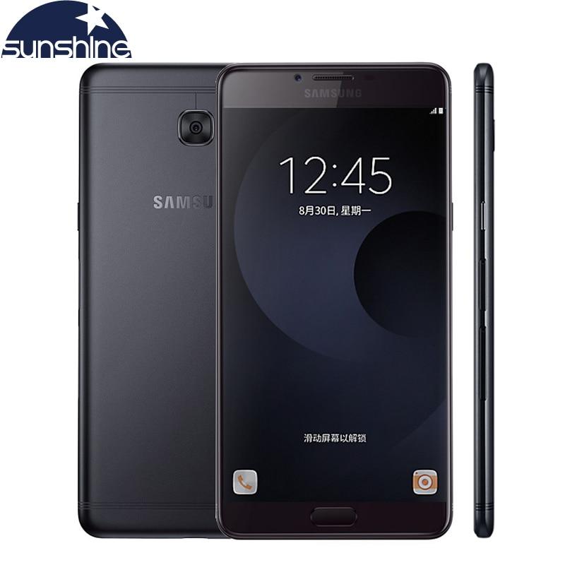 Original Samsung Galaxy C9 Pro C9000 Android teléfono Móvil Octa core 4000 mAh B