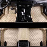 Car Wind car floor mat For bmw x3 e83 g30 x3 f25 x5 e53 x1 e84 f01 x5 f15 e65 f25 x6 e71 f31 e83 f45 accessories carpet rugs
