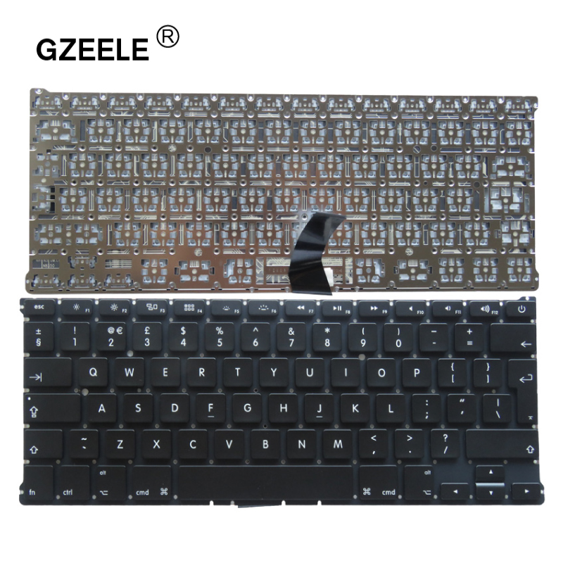 GZEELE UK Laptop Keyboard For Apple Macbook Air 13.3