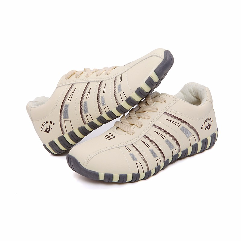 KUYUPP Fashion Breathable Leather Women Casual Shoes Lace Up Woman Trainers Outdoor Women Low Toe Shoes Zapatillas Mujer YD122 (21)