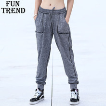Купить с кэшбэком Sport Pants Women Sportswear Yoga Pants Loose Running Pants Fitness Yoga Sports Clothing Sport Trousers Gym Clothing Harem Pants