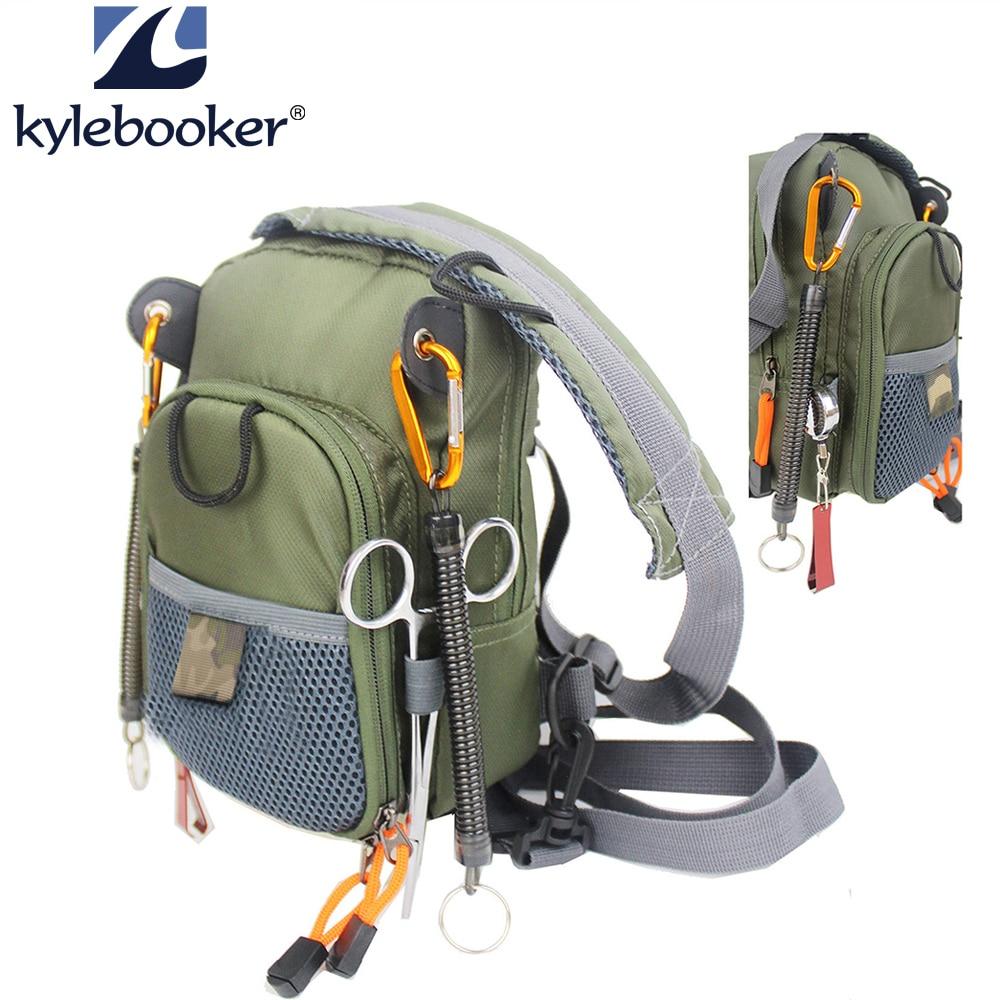 Fly Rybaření hrudníku pasu Lehký Pohodlný Nastavitelný kompaktní taška se čtyřmi zdarma rybářské nářadí příslušenství