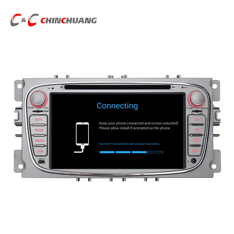 2GB RAM 32G ROM Android 6.0 Car Radio Player for Ford Mondeo S-max Focus Galaxy Kuga C-Max GPS Navi WiFi DVR, Support OBD DAB+