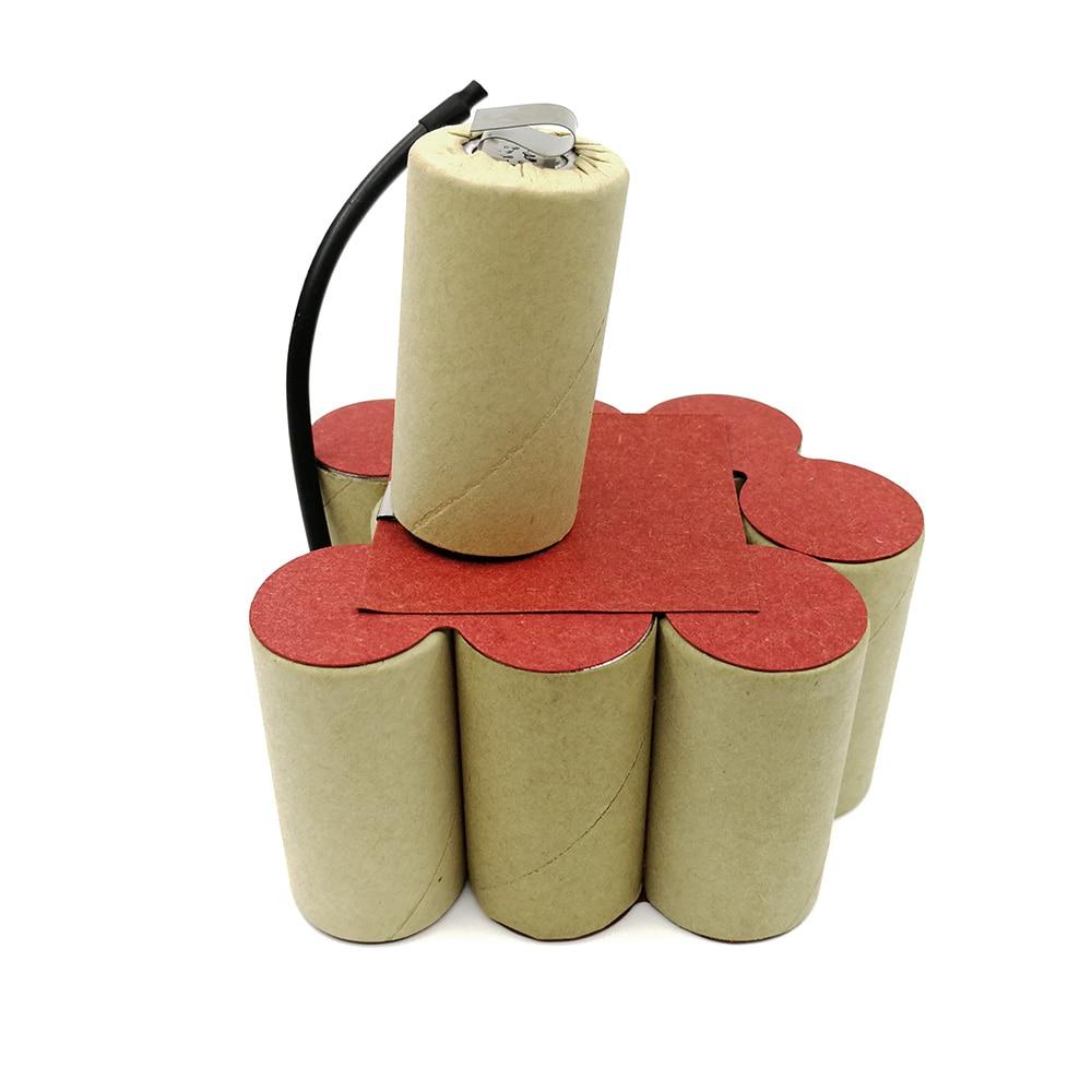 Bater/ía de Seilylanka REPACKING PACK Para Ryobi 12V 3000mAh BPN-1213 1217 Ni-MH Sub C cells OZ
