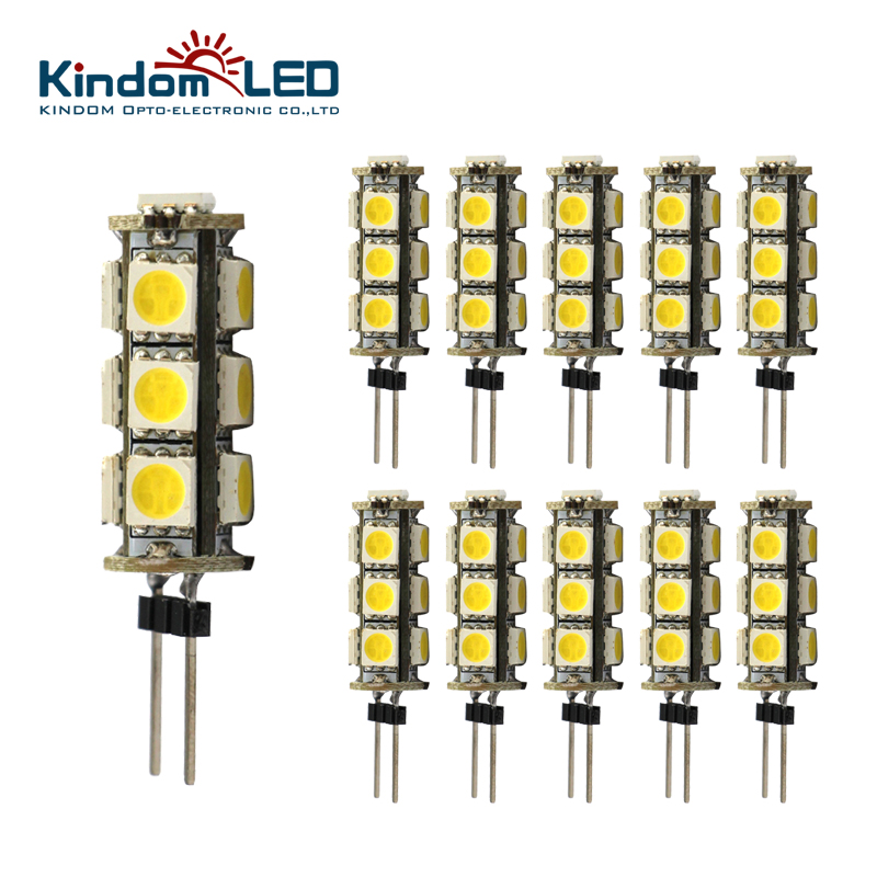 2 Watt 12 Volt Led Round Cabinet Light Fitting Kits Cool: KINDOMLED 10Pcs G4 Led Lamp/Light/Bulb 12 Volt DC Led