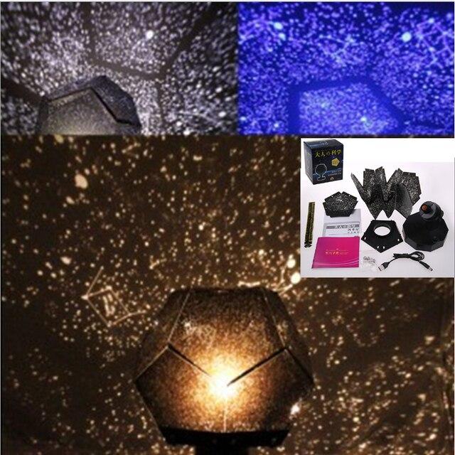 Novelty Luminous Toys Romantic Starry Sky LED Night Light Projector Battery USB Night Light Creative Birthday Toys For Children 2