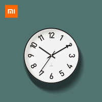 Xiaomi Time Aesthetics Circular Wall Clock Modern Quartz Clock Solar Movement Mute Noiseless Clock For Home Living Room