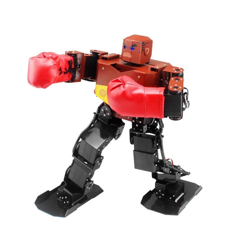 19 DOF Humanoid Robot All in One Robot-Soul Robo-Soul Contest Dance Robot soldier king 16dof smart humanoid robot frame contest dance biped robotics for diy