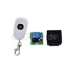 New arrival 433MHz 12V 1CH wireless remote control switch+receiver module+shell for electric door lock use for single door-SL312