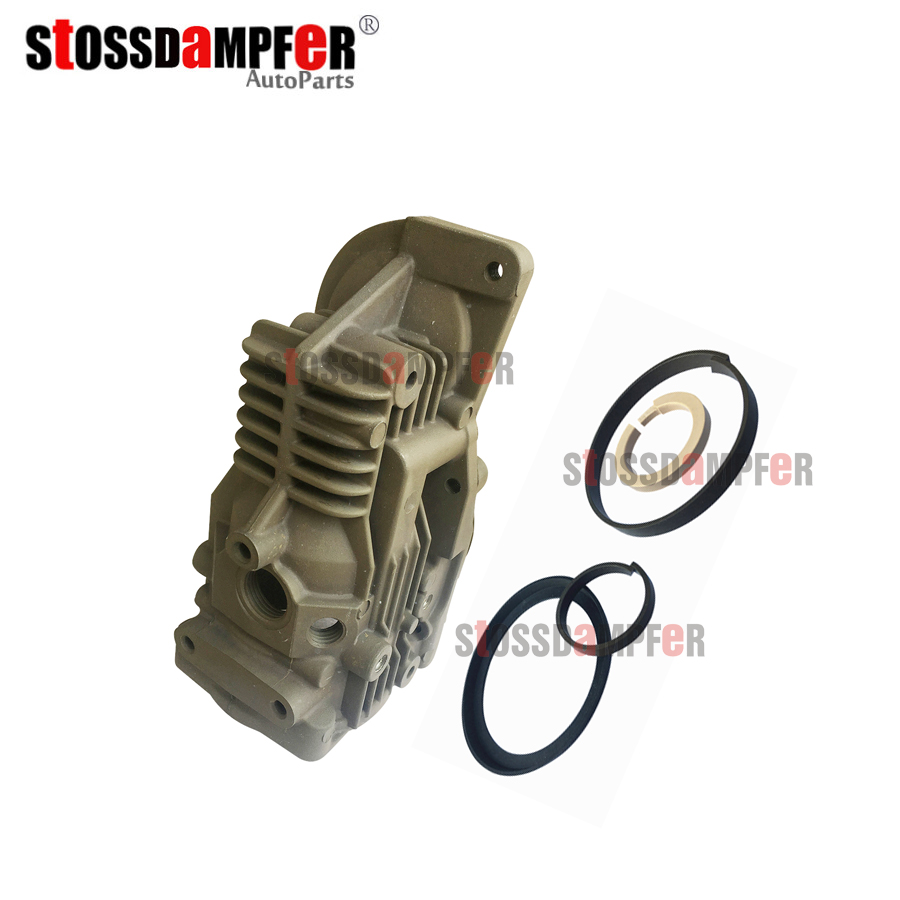 StOSSDaMPFeR Air Suspension Air Compressor Repair Kit Pneumatic Cylinder Head With Piston Ring For Mercedes Benz W221 2213200704