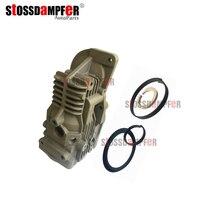Stossdampfer suspensão a ar compressor de ar kit reparação cabeça do cilindro pneumático com anel pistão para mercedes benz w221 2213200704