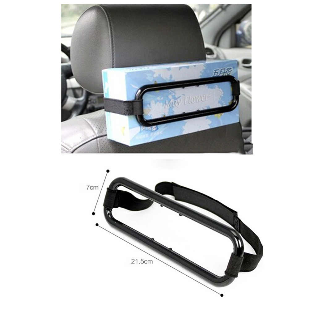 1PC Car Visor Tissue Paper Box Holder Auto Seat Back Accessories Clip Brackets For Audi A4 A3 A5 For BMW E46 E36 For Golf 4