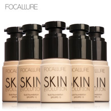 FOCALLURE Face Foundation Makeup Base Liquid Foundation BB Cream Concealer Whitening Moisturizer Oil-control Maquiagem 35ml
