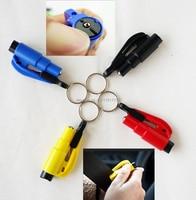 10 Pcs Car Escape Rescue Tool Keychain Window Glass Breaker And Seatbelt Cutter