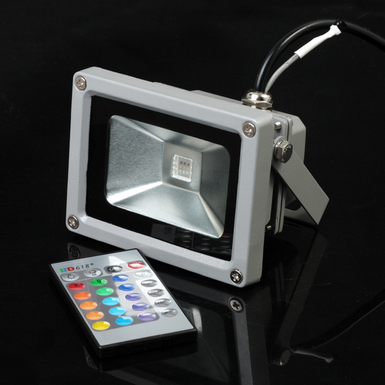 online buy wholesale 10w rgb led flood light from china. Black Bedroom Furniture Sets. Home Design Ideas