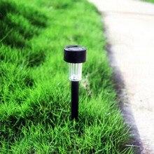 Garden Yard Solar Panel LED Spike Spot Light Landscape Path Lawn Solar Lamps Outdoor Sun Light