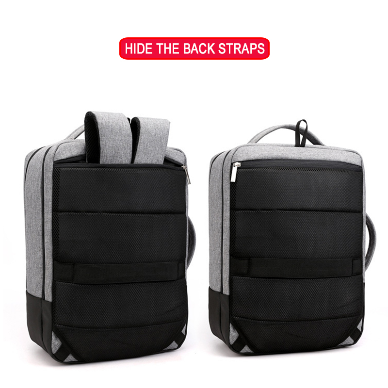 Image 4 - Anti Theft Backpack Women Men Laptop Bagpack 15.6 USB Charger Male Notebook Back Pack Travel School Bag Mochila Black Men's Bags-in Backpacks from Luggage & Bags