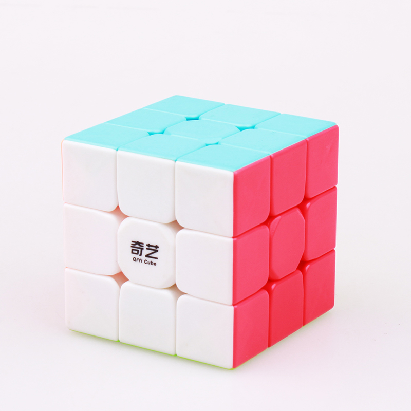 QIYI warrior w cube 3x3x3 professional speed magic cube sail puzzle cube Neo cubo magico stickerless for children in Magic Cubes from Toys Hobbies