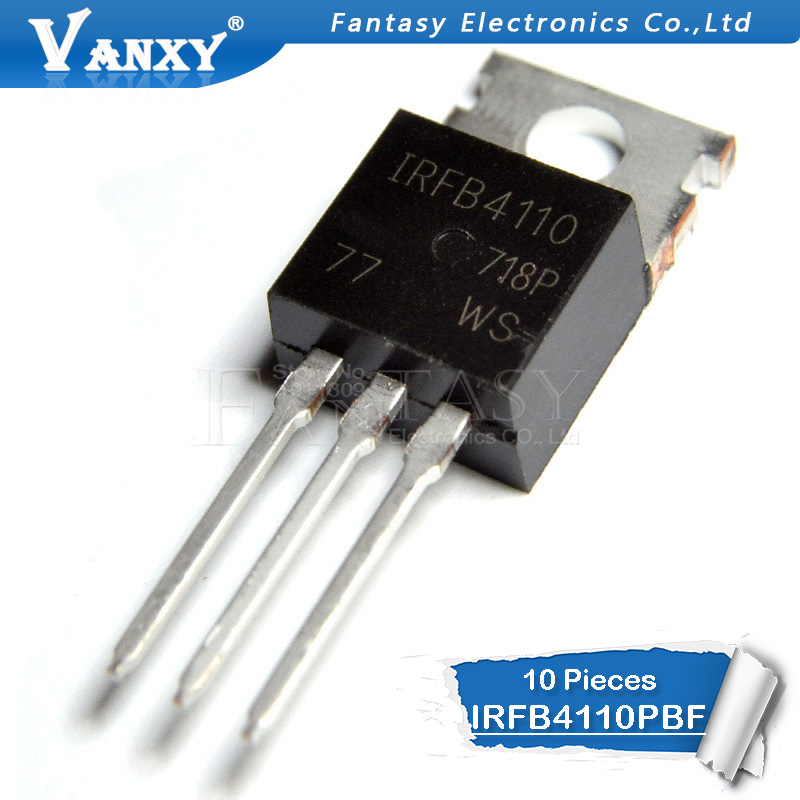 10PCS IRFB4110PBF TO220 IRFB4110 B4110 TO-220 New MOS FET Transistor